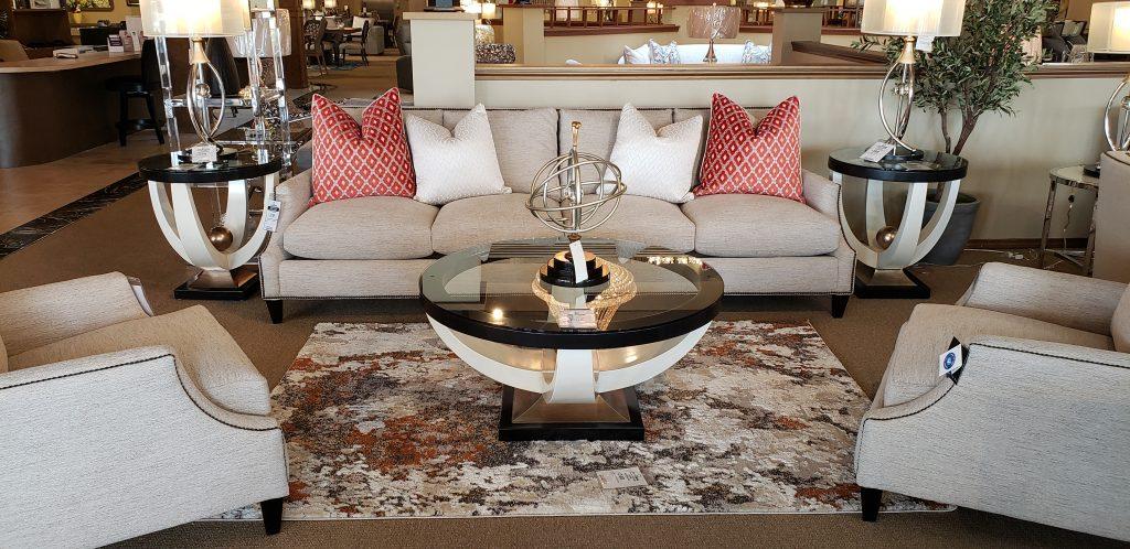 Fabric Living Room